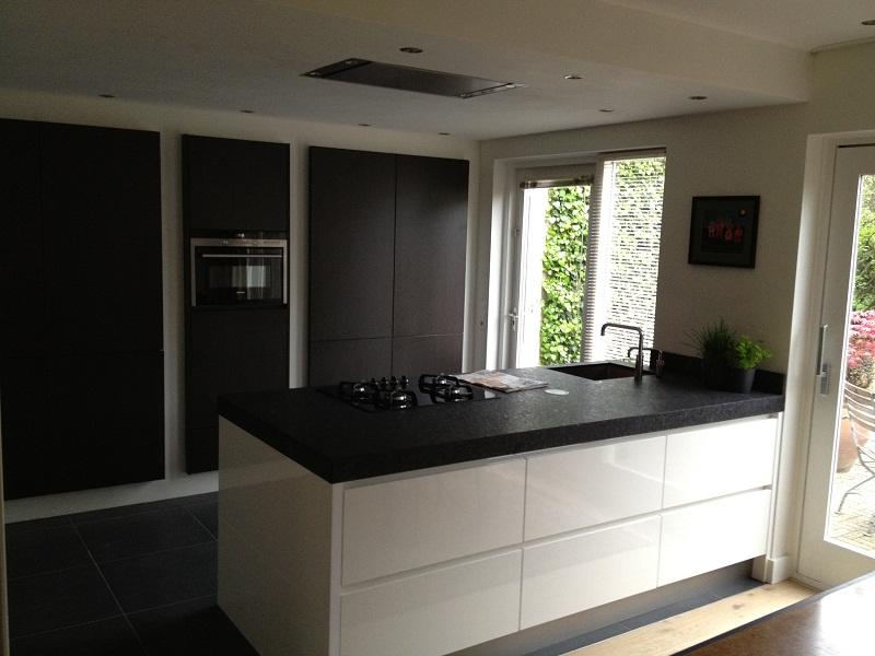 keuken met houten front 1
